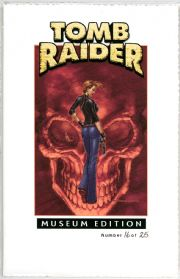 Tomb Raider #25 Andy Park Variant Museum Edition COA Ltd 25 Top Cow comic book